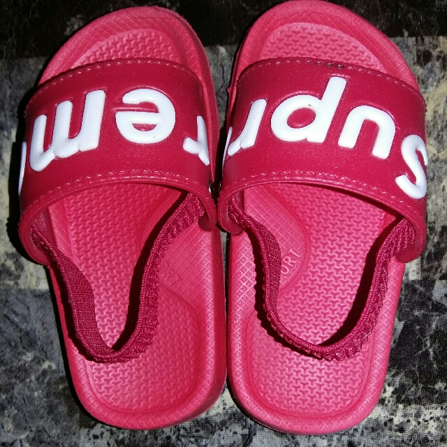 Supreme Sandals