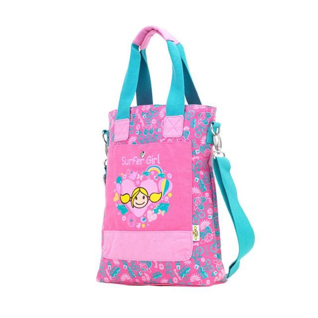 Surfer girl sling bag