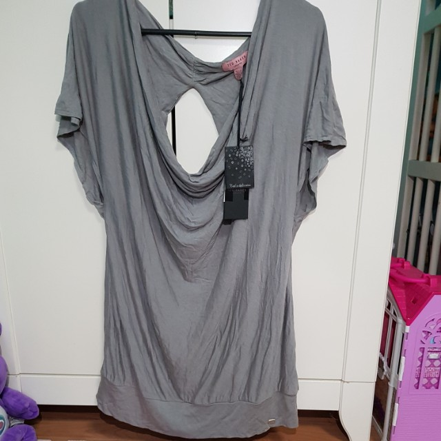 8b81a8f0d1aceb Ted Baker Top with bandeau, Women's Fashion, Clothes, Tops on Carousell