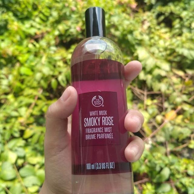 The body shop white musk smoky rose