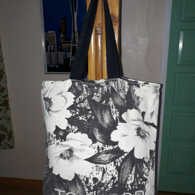 Top Shop Canvas Tote Bag