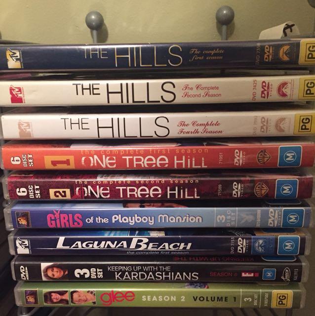 Tv series DVDs