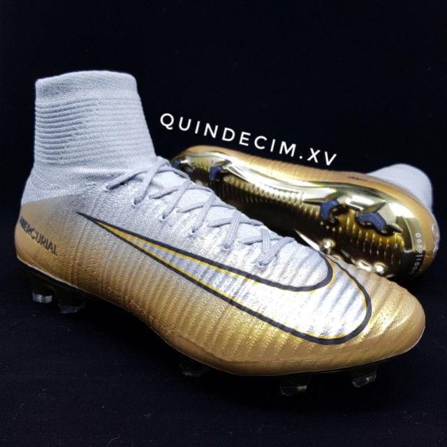 sneakers for cheap e502b 71bc1 UK9.5/US10.5) Nike Mercurial Superfly V CR7 Quinto Triunfo ...