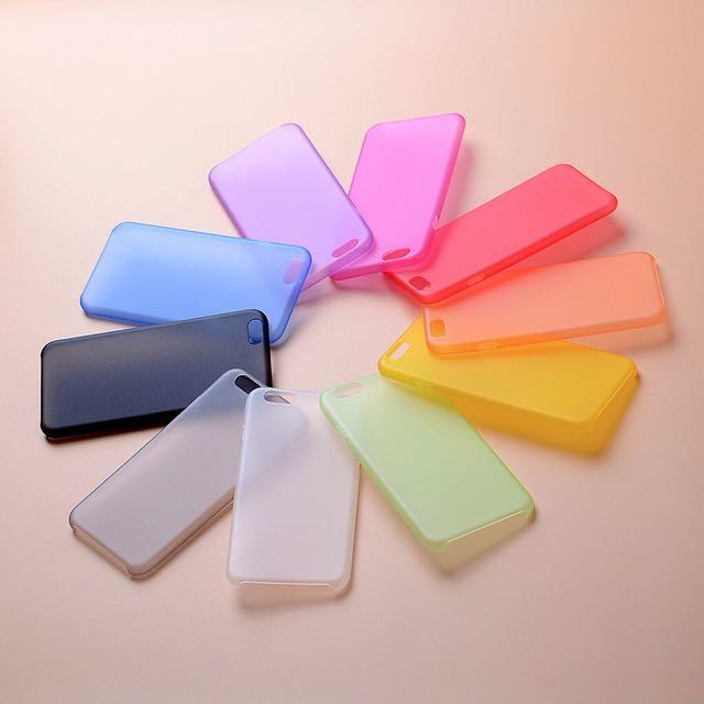 Ultra Thin Matte Iphone Case
