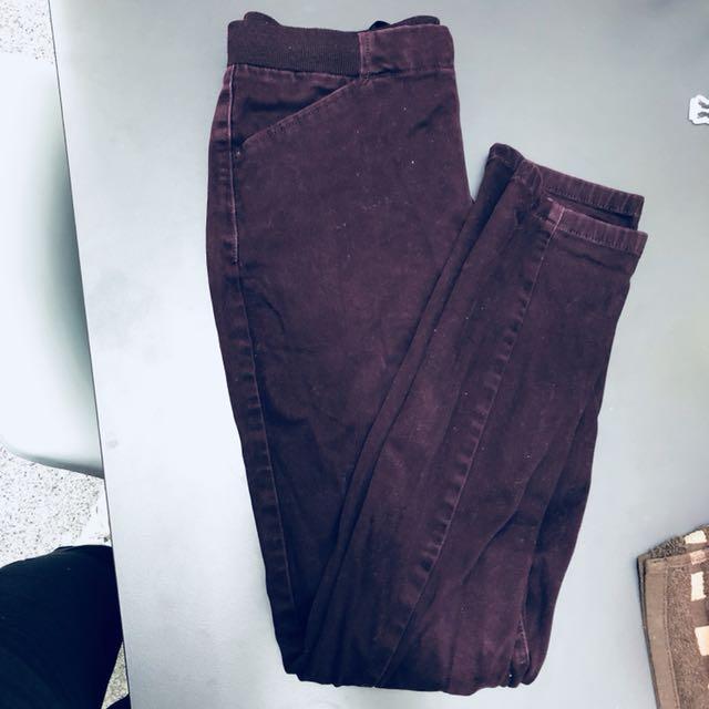 Uniqlo Dark purple Pants