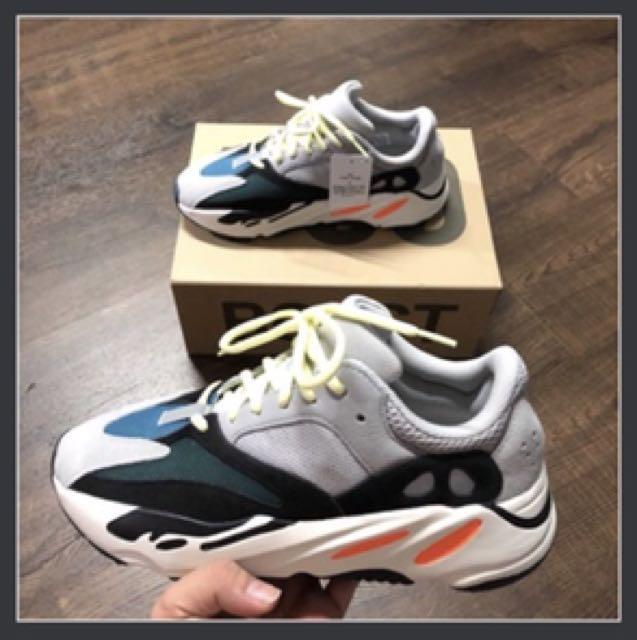 best service 234b5 feb07 Us9.5 Adidas Yeezy 700 Wave Runner Kanye West boost, Men's ...
