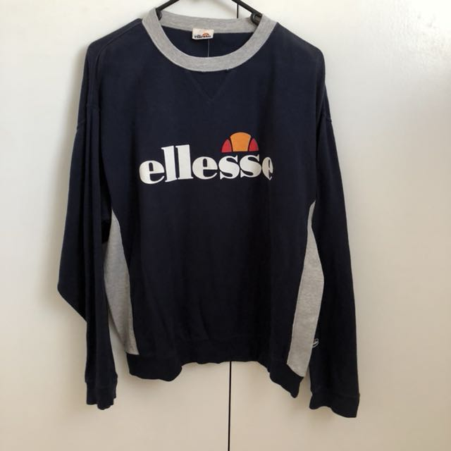 Vintage ellesse sweater jumper