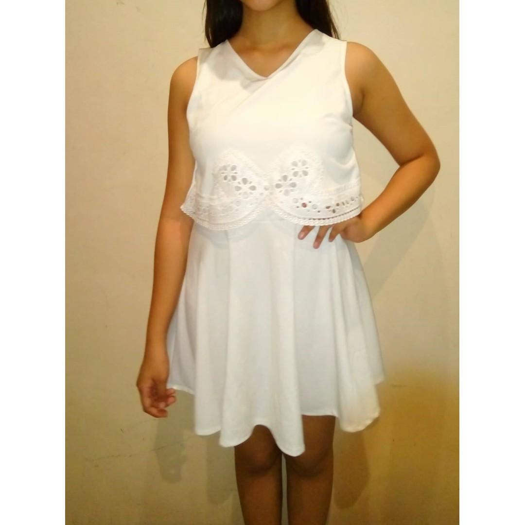 White Semi Formal Dresses
