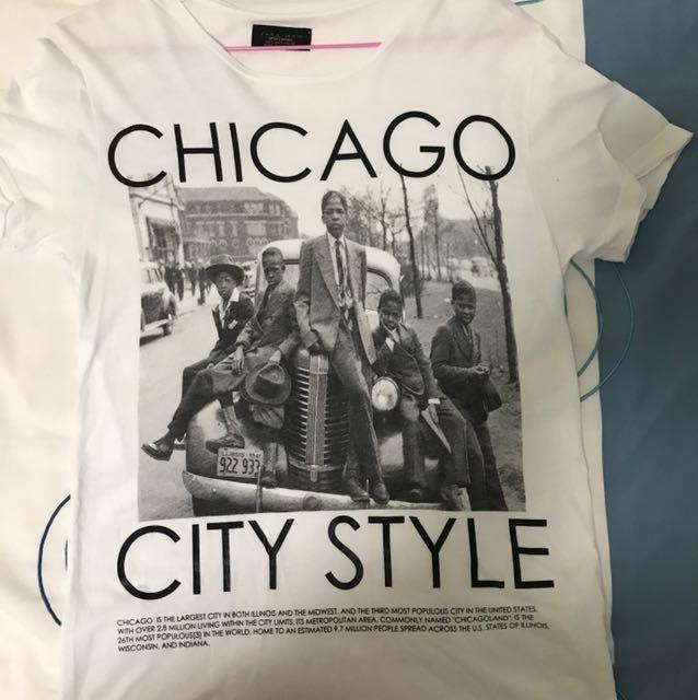 81aa4251 ZARA men Graphic T-shirts