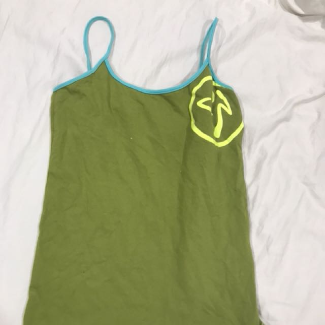 Zumba work out singlet