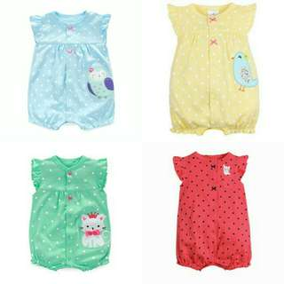 BN FREE MAIL Baby Romper for Girls