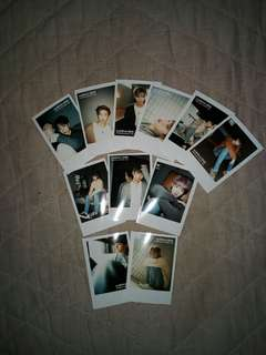 Wanna One Polaroid