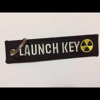 Embroidery Launch Key Keytag!