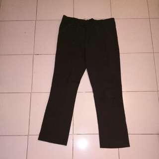 Celana panjang bahan strech/celana kerja