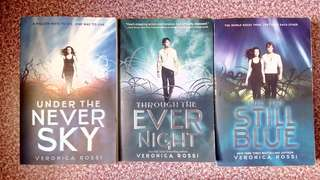 SIGNED Under The Never Sky series