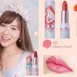 CutePress Mermaid Aries Lipstick 02,04,05