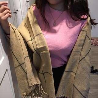 🚚 現貨✨✨格子圍巾可當披肩