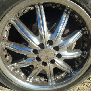 4 Brand New Irock Rims