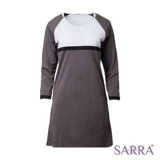SMW1602 Sarra Fadhilah - Charcoal/White/Black