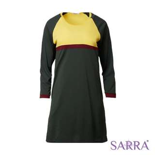 SMW1603 Sarra Fadhilah - Forest Green/Daisy/Maroon