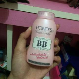 Bb pond's magic powder