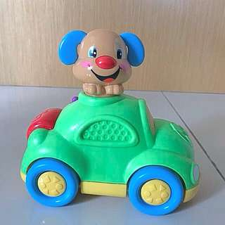 Fisher Price Puppy's Learning Car