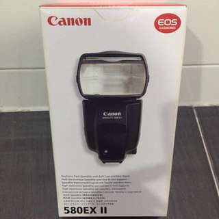 Canon Speedlite 580EX II Original (Box Only)