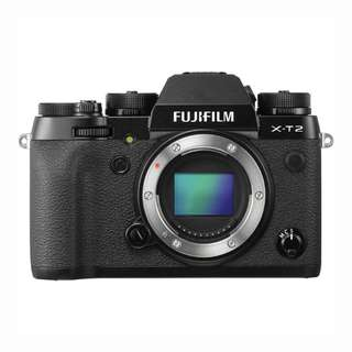 *5 Free Gifts* - NEW Fujifilm X-T2 Camera Body