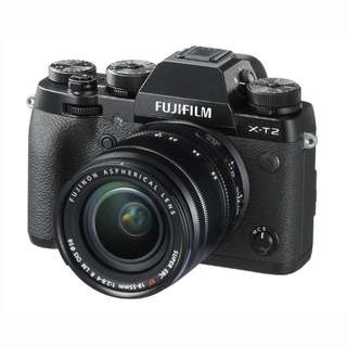 *5 Free Gifts* - NEW Fujifilm X-T2 Camera + Fujinon XF 18-55mm Lens