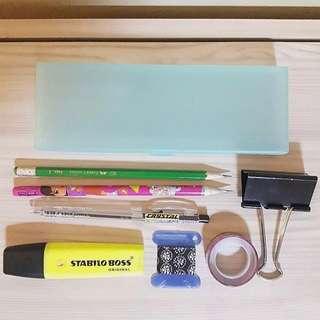 Pencil Case + Freebies