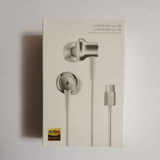 (白色) 小米降噪耳機(Type C 版) Mi ANC & Type C In-Ear Earphone