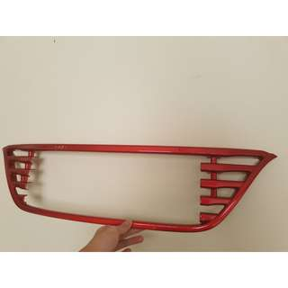 Red Car Grille