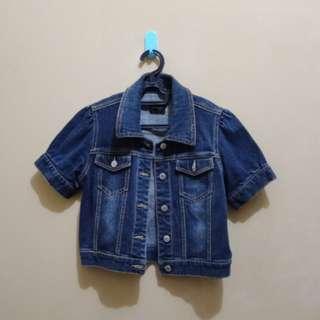 Blue Jeans Crop Jacket