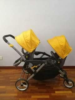 Contours Option double stroller