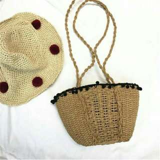 Straw bag/Rattan bag