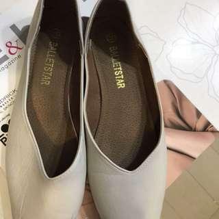 韓款平底鞋 8成新