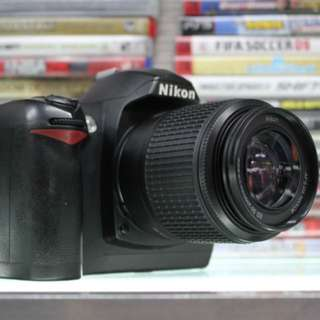 Nikon D70s With 55-250mm For Sale
