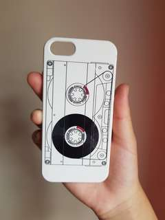 Cassette Tape Phone Case for iPhone SE/5s/5
