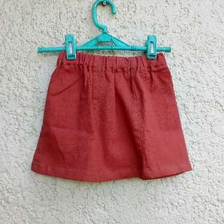 Toddlers skirt