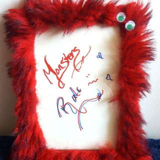Furry Monster Picture Frame