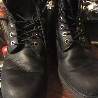 Timberland boot black colour 100% real size 42.5/43 95% new supreme Noah hip hop  obey Lv Gucci kenzo Dior