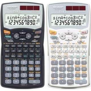 $15 Sharp Scientific Calculator Black EL 509WS