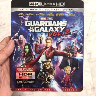 Guardians of the Galaxy 2 4K Ultra HD + Blu-Ray + Digital