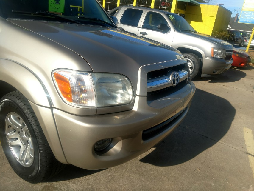 06 TOYOTA SEQUOIA LIMITED 4x4