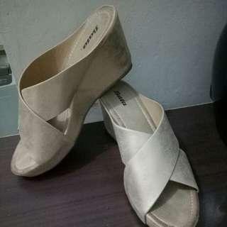 Sandal wedges Bata