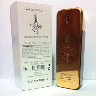 1 million Paco Rabanne 100ml EDT