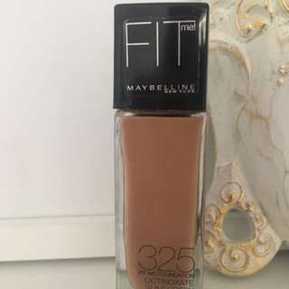 Maybelline Fit Me Foundation 325