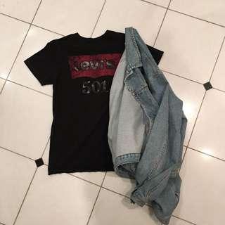 Vintage Levi's 501 tee