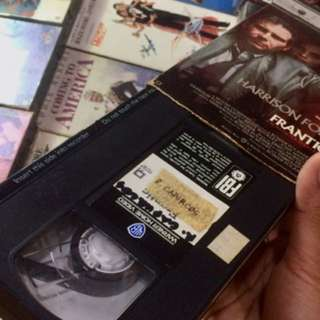 VHS movies/tapes