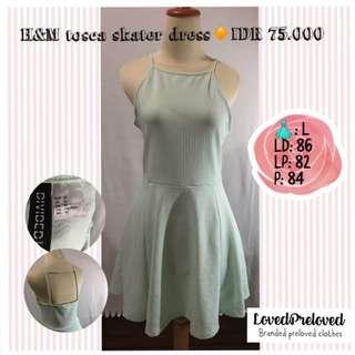 H&M tosca skater dress